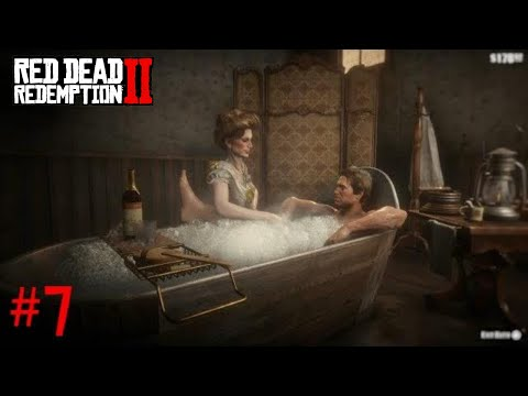 Red Dead Redemption 2 - Part 7 - Taking A Bath (Walkthrough Gameplay)
