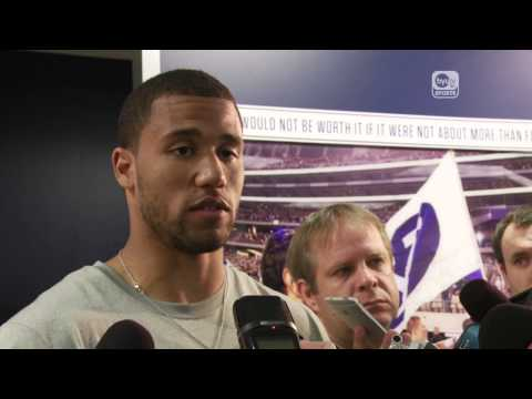 Jordan Leslie Post-Practice Interview | October 27, 2014