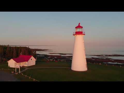Point Prim Lighthouse   Prince Edward Island   Mavic Air