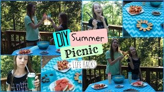 DIY Summer Picnic + Life Hacks | Summers Life