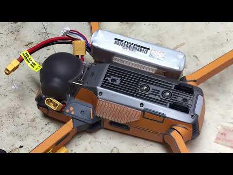 DJI Mavic - Mount up Dual batteries