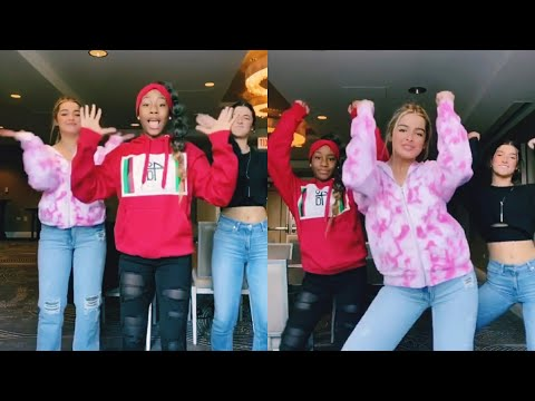 Charli D'Amelio & Addison Easterlin Perform Original 'Renegade' Dance With Creator Jalaiah Harmon
