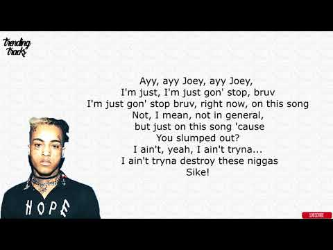 XXXTentacion x Joey Bada$$ - Kings Dead REMIX (Lyrics)