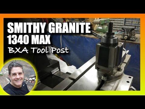 Smithy Granite 1340 Max BXA Quick Change Tool Post