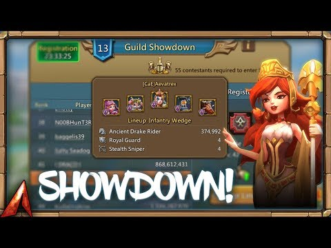 How To Set Up For Guild Showdown! Lords Mobile