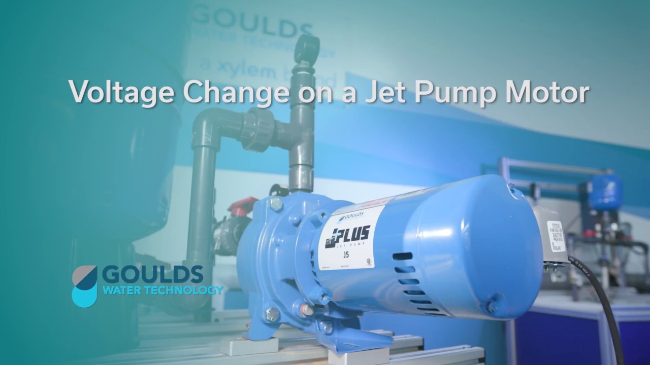 medium resolution of how to change voltage on a jet pump motor