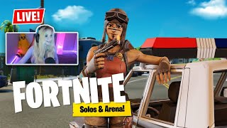 🔴LIVE🔴 Fortnite - Winning In Solos \u0026 Arena. 4000+ Wins!