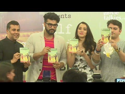 Arjun Kapoor & Shraddha Kapoor At Half Girlfriend Book Launch