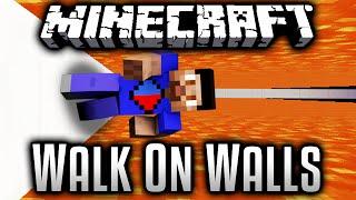WALK ON WALLS! - Minecraft 1.9 PUZZLE MAP!