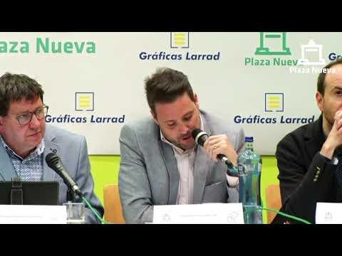 El debate de Plaza Nueva: Alejandro Toquero Gil (Navarra Suma) pide el voto a la ciudadanía de Tudela