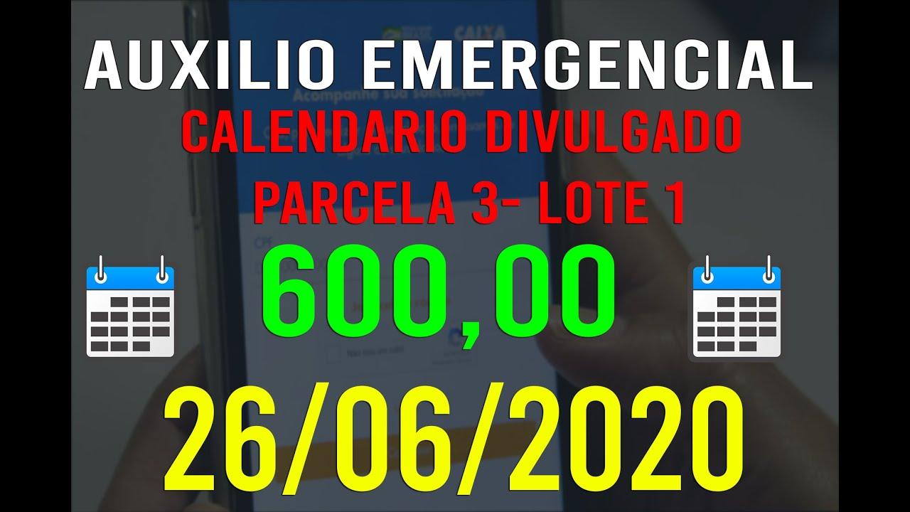 Calendário Da 3ª Parcela Do Auxílio Emergencial Liberado