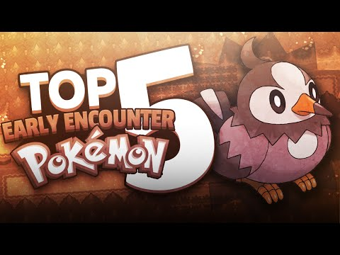 Top 5 Early Encounter Pokemon
