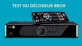 Internet - Test du décodeur tv classique de la BBOX