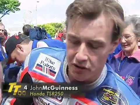 John McGuinness - TT Win #1 - 1999 Lightweight 250cc Race