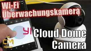 YI cloud dome camera Test: IP Überwachungskamera mit Objektverfolgung - Hands-on