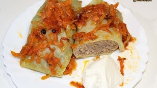 Голубцы / Stuffed cabbage  | Видео Рецепт
