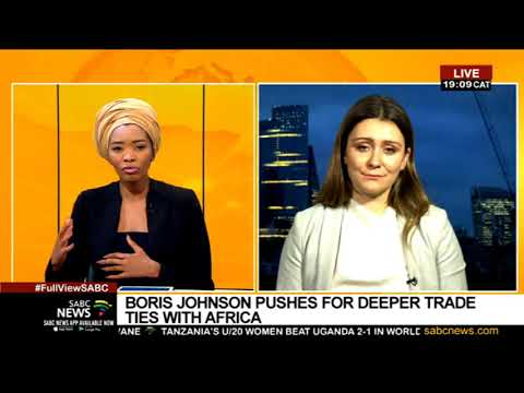 Boris Johnson's post-Brexit trade pitch to African leaders