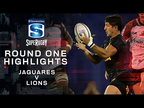 ROUND ONE HIGHLIGHTS | Jaguares v Lions - 2020