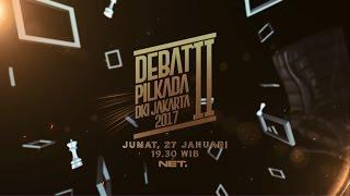 Video DEBAT II PILKADA DKI JAKARTA, JUMAT 27 JANUARI 2017 download MP3, 3GP, MP4, WEBM, AVI, FLV November 2017