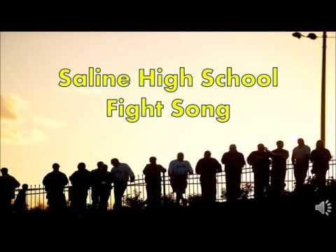 Saline High School Fight Song - Karaoke Style