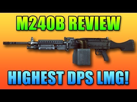 Battlefield 4 - M240B LMG Review: Highest DPS Machine Gun!