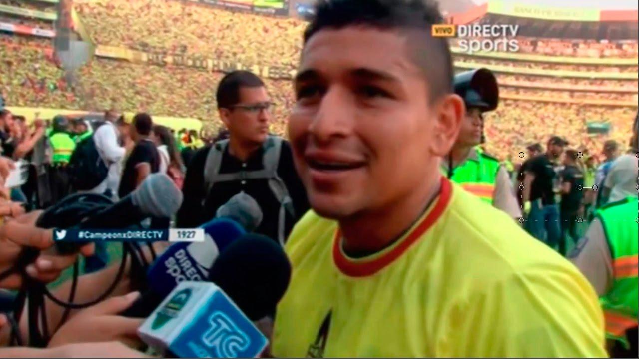 Entrevista Mario Pineida | Post- Partido (Barcelona 3-3 Aucas) Barcelona Campeon 2016 HD