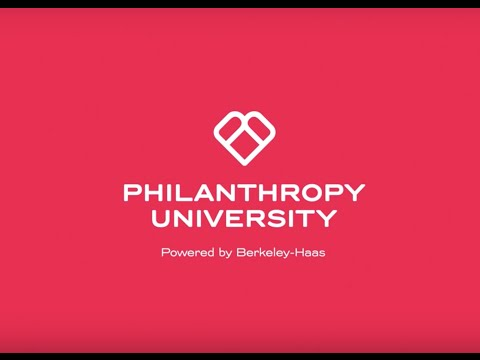Philanthropy University Trailer