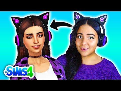 Making My Sim Self In The Sims 4 Create A Sim Youtube