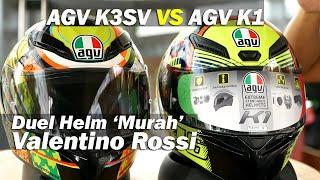 Komparasi Dua Helm Rossi : Agv K1 Vs Agv K3sv | Tmcblog #1160