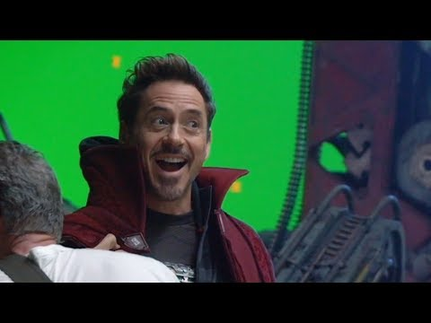 Avengers Infinity War BEHIND THE SCENES & All Trailers