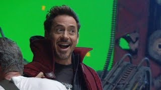Avengers Infinity War BEHIND THE SCENES & All Trailers streaming