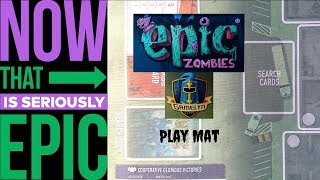 Tiny Epic Zombies: Play Mat - Overview
