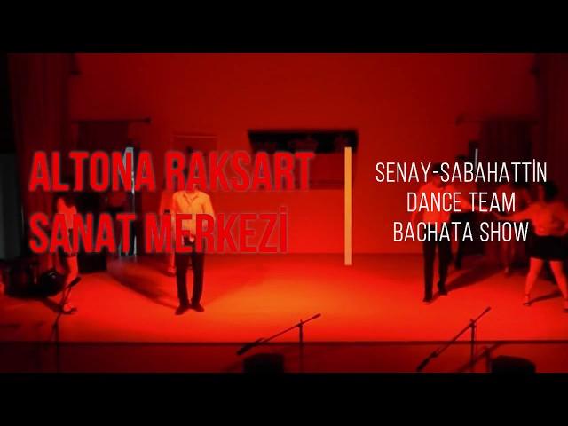 Altona Raksart Yıl Sonu Gösterisi 2018 - Senay - Sabahattin Dance Team Bachata Show