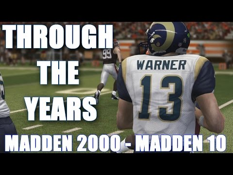 Kurt Warner Through The Years - Madden 2000 - madden 10