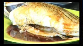 Cá Hấp Gừng Xì Dầu (Steamed Fish in Ginger Sauce)
