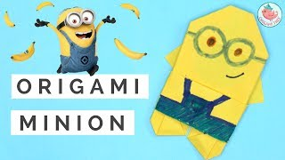 Origami Minion - Paper Crafts / Origami for Kids