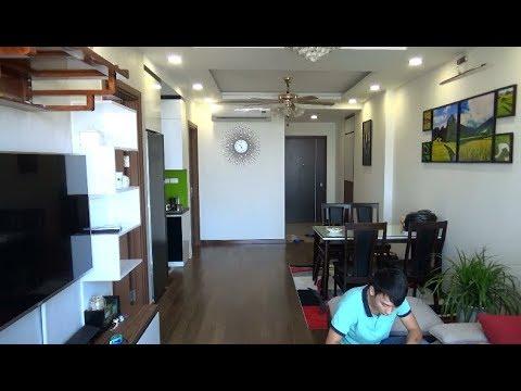 Nội thất gỗ công nghiệp đẹp hiện đại nhà anh Cường- P2001 tòa G5 Chung cư FiveStar Kim Giang