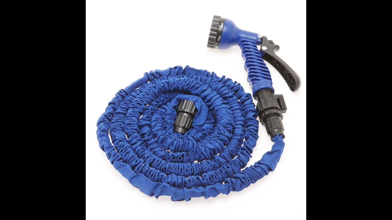 sc 1 st  YouTube & Sunbow 100% Latex 50ft Expandable As Seen on Tv Garden Hose - YouTube