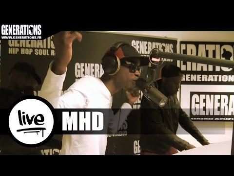 Youtube: MHD – Afro Trap 1 & 2 (Live des studios de Generations)