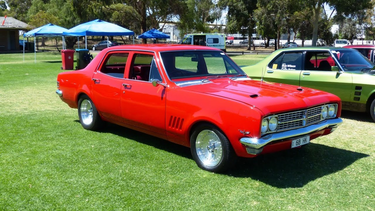 Hk 68 Holden And Xy Gtho Leaving The Smasa Show And Shine