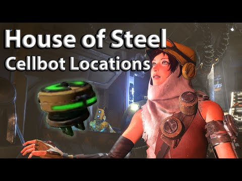 Recore: House of Steel Cellbot locations guide
