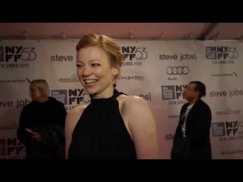 Sarah Snook   'Steve Jobs' Red Carpet  NYFF53