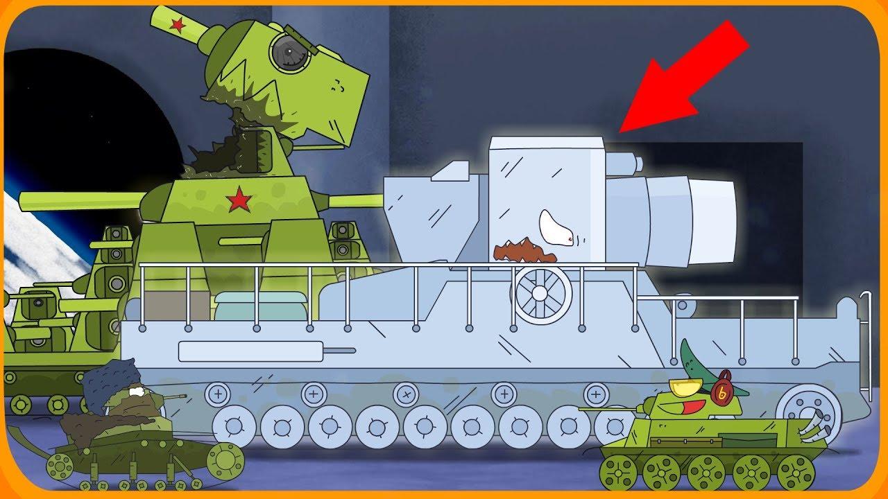Нападение монстра Мультики про танки - YouTube
