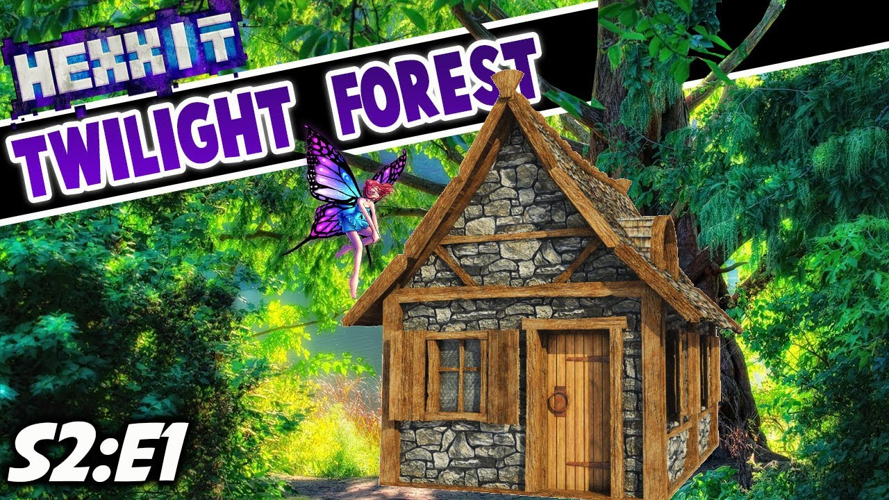 Download Medieval House & Treehouse Build - Minecraft Twilight Forest (S2:E1)
