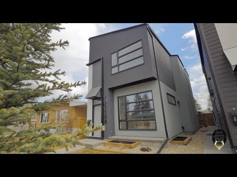 Modern Inner City Property in Calgary Real Estate Video Tour - 1608 44 St SW