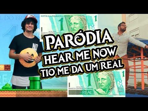 PARÓDIA TIO ME DA UM REAL? ♫ HEAR ME NOW  Alok Bruno Martini feat Zeeba