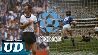El juego del siglo Italia vs Alemania Mundial 1970