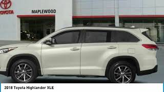 2018 Toyota Highlander XLE Maplewood, St Paul, Minneapolis, Brooklyn Park, MN J14551