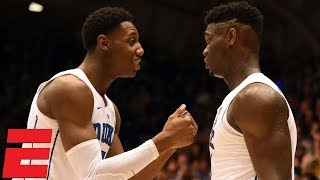 RJ Barrett, Zion Williamson help Duke take care of Yale | NCB Highlights