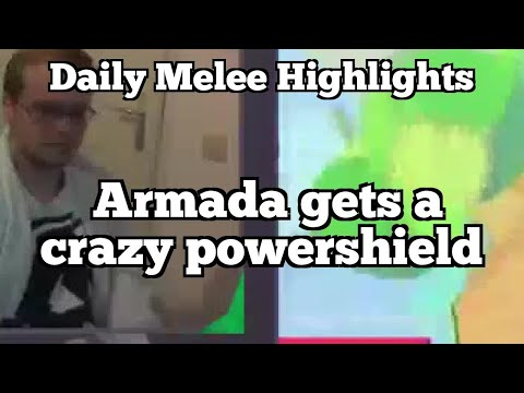 Daily Melee Highlights: Armada gets a crazy powershield